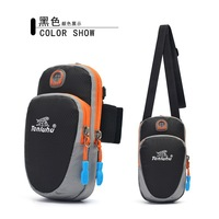Factory wholesale fashion custom useful sport mobil phone arm bag/arm pouch/handphone bag