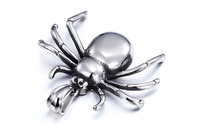 Hot selling best quality high polished fashion cool metal insect spider pendant