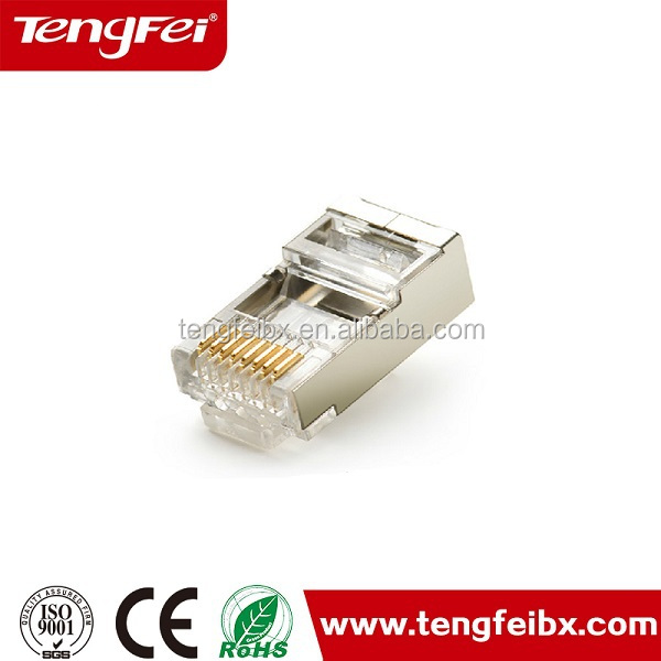 network transparent Crystal head,cat6 rj45 connector,Crystal head for Cat6 RJ45 plugg