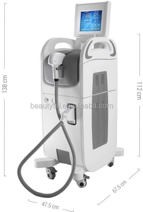 LINGMEI 808nm diode laser / diode laser hair removal / laser diode epilation, hair removal laser 808nm