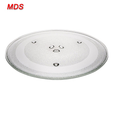 Quality control turntable microwave cooking plate glass