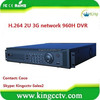3G network digital video recorder HK-S8608F standalone dvr p2p cloud 8ch 960H H. 264 embedded LINUX dvr