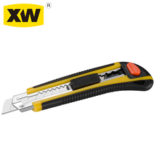 Box cutter SK5 ABS 18mm automatic lock heavy duty snap off utility knife blades
