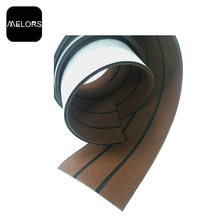 Melors Boat Flooring Cheap Composite Synthetic Edge Teak Decking For Boats