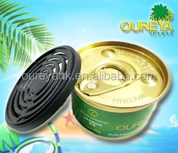 209 aluminum jar plastic cap for air freshener