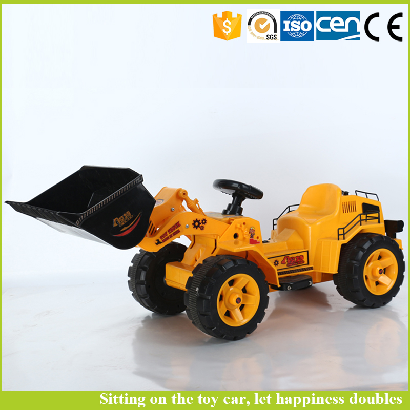 Kids remote control car with rc excavator battery operated toy truck kids