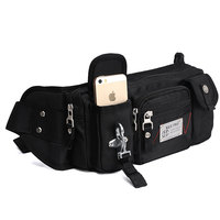Manufacturer wholesale Nylon Running or Cycling Sport Waist Bag for Woman and Man
