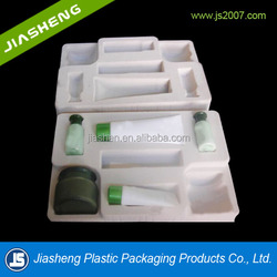 cosmetic trial samples blister tray