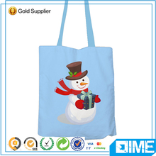 Fashion Cute Wholesale Light Cotton Gusset Tote Bag For Gift