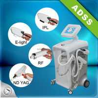 multifunction beauty machine e light q switch