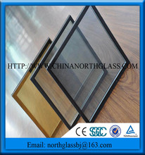 cheap price Insulated glass double glazed roof panels for greenhouse