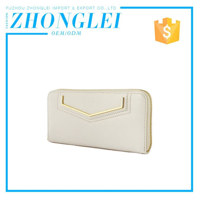 Affordable Price Tri Fold Leather Purses Handbags Pictures