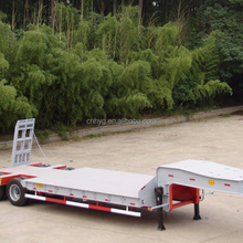 supplier of Low bed Semi trailer hot sale semi trailer with cheap price