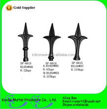 various cheap iron spearhead cast iron fencing finial