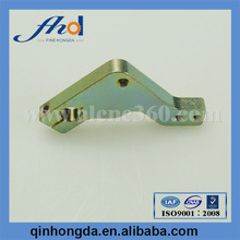 Customized Machining hardware fitting with yellow zinc plated