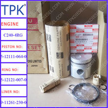 Isuzu C240 Liner kits, piston, ring set, cylinder liner