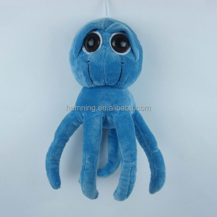 Octopus Kitten Ginger kitten soft plush toy
