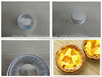 Pollution-free Convenient Best-Selling Aluminum Foil Mini Muffin/Egg Tart Cups Disposable