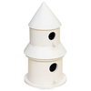 Natural pine garden home decoration customized wholesale wooden bird house