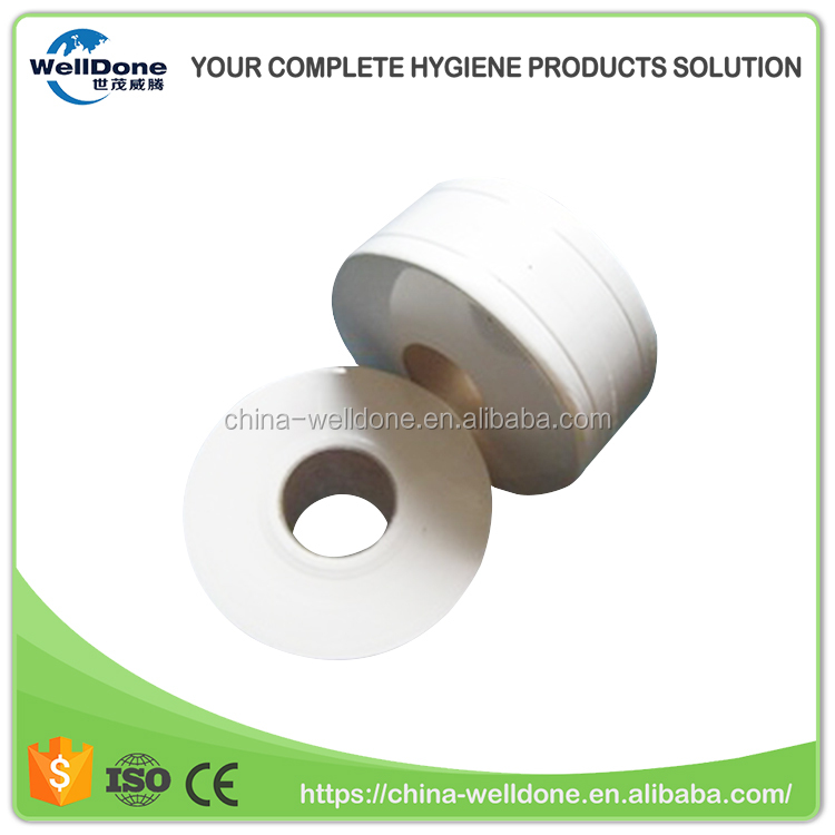 High quality white recycled jumbo roll tissue paper indonesia