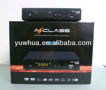 Azclass S926 Deco Satelital FTA Chile