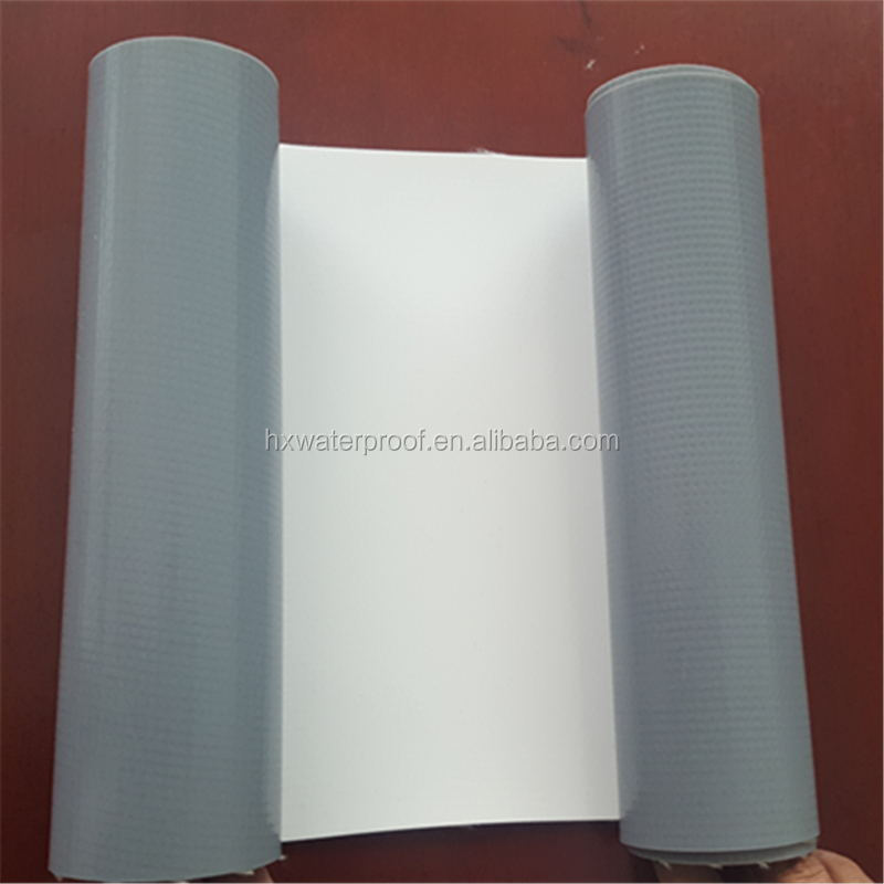 Heat resistant TPO waterproofing roof membrane