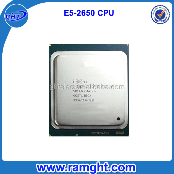 E5-2650 lga2011 Socket intel cpu price in china