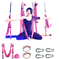 Full Set Fitness Anti gravity Aerial Yoga Swing Air Flying Yoga Strap Belt 440Lb Load--Quality Guarantee