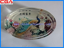 factory supplied glass coaster for home decor and glass artware