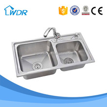 Made in Chaozhou China 201 Stainless steel 0.7 mm Kitchen Sinks