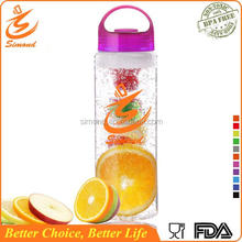 700ml fashional new design fruit infuser water bottle for outdoor drinking