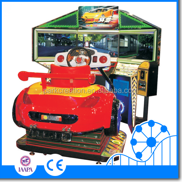 Newest arcade game machine motorcycle electronic game machine