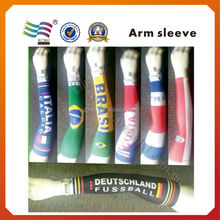 Custom printed protection compression arm sleeve for baseball