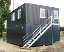 living 20ft container house/two floors container house/new style container house