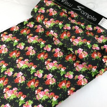 China Making silk fabric or with floral print custom digital print fabric or hand block print fabric