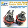 20W LED Angel Eyes Marker for BMW E39 E87 E60 E63 E64 E65 E66 X5 E53