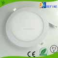 LED slim panel light warm/pure/cool white led office light led panel light 6w 3w