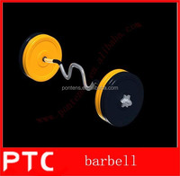 Crossfit Barbell and Bumper Plate Set