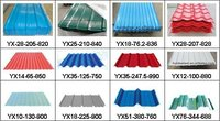 Multiple tile type colored /Prepainted corrugated roofing steel sheet with good quality