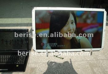 "55"" High Brightness LED Backlight LCD Panel,waterproof and dustproof,auto-dimming system"