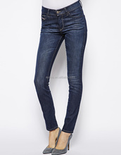 hot selling custom made skinny jeans wholesale 2014 new style fashion women jeans