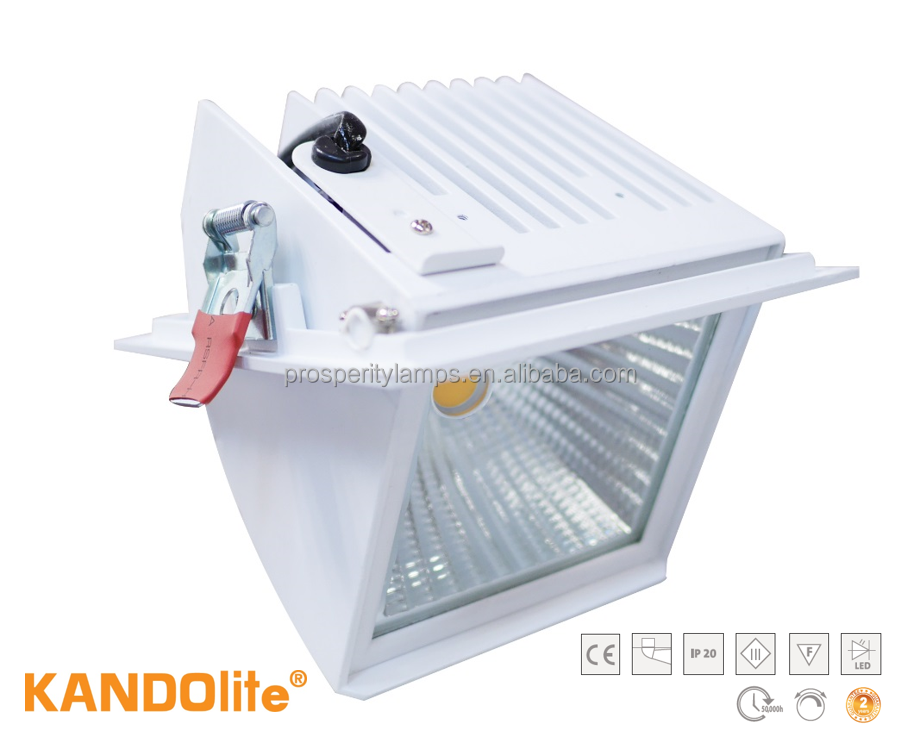 Lighting COB LED SPOTLIGHT 12W/34W 220V-240V 3000K/4000K/6500K 920lm-3080lm CE IP20 TRIAC dimmable LED LIGHTS Spotlight