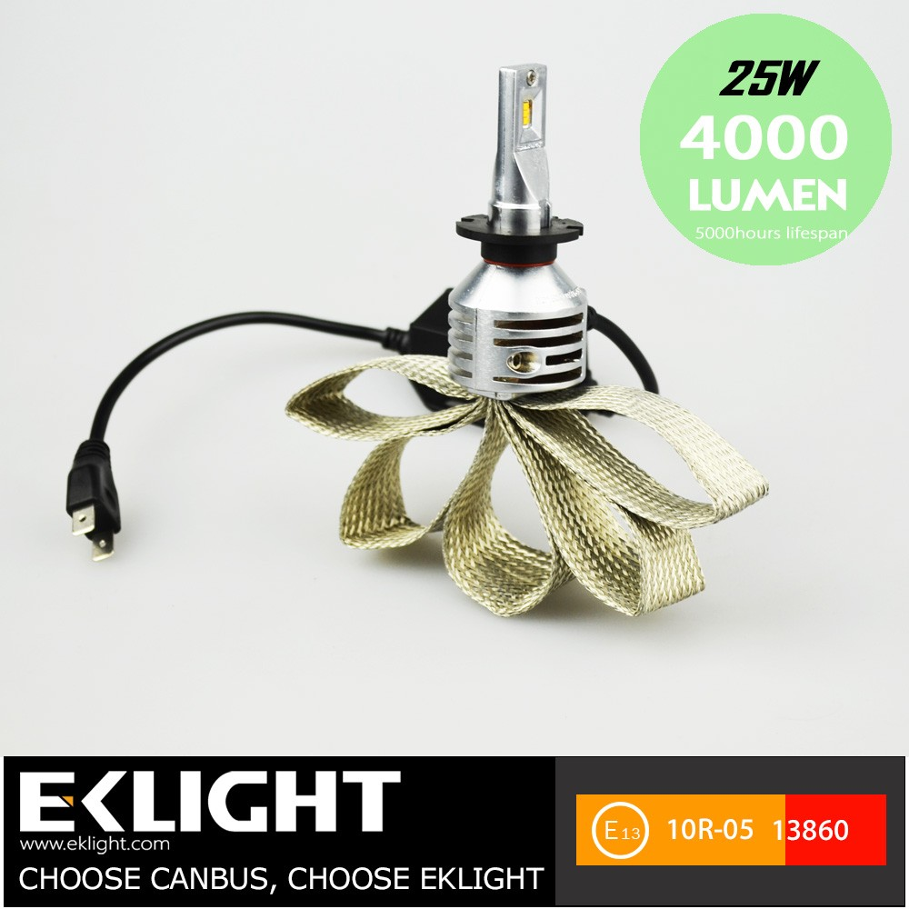 Super Bright Led Headlight Bulb H7 Led Headlight Bulbs Hottest Fanless Car Head Light Bulb