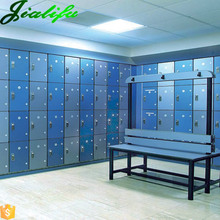 Fireproof HPL compact locker room benches for sale