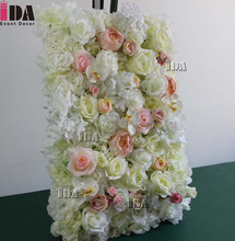 wedding backdrop flower for party stage decorations