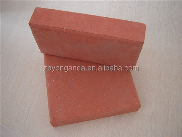 solid clay brick squares