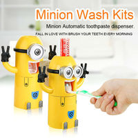 Minions children toothpaste dispenser earn money online