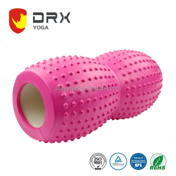 33x14cm Peanut Back Massage Roller fitness foam roller Massage EVA Deep point yoga roller For Physical Therapy & Exercise Muscle