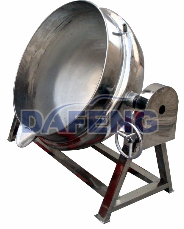 Vertical stainless 304 jacketed boiler