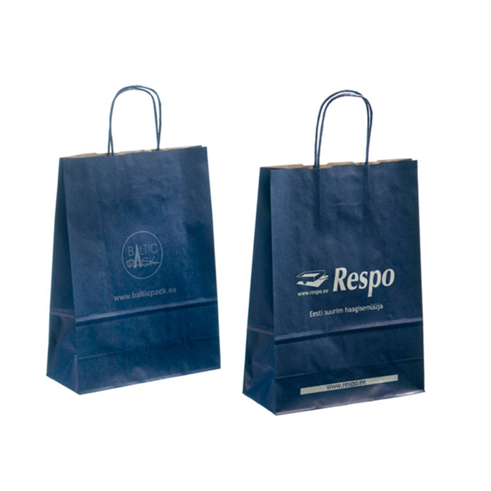 Fancy paper bag handles luxury paper bag bread good quality paper bag specification with handle